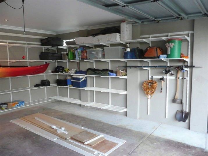 6 советов по выбору стеллажа в гараж