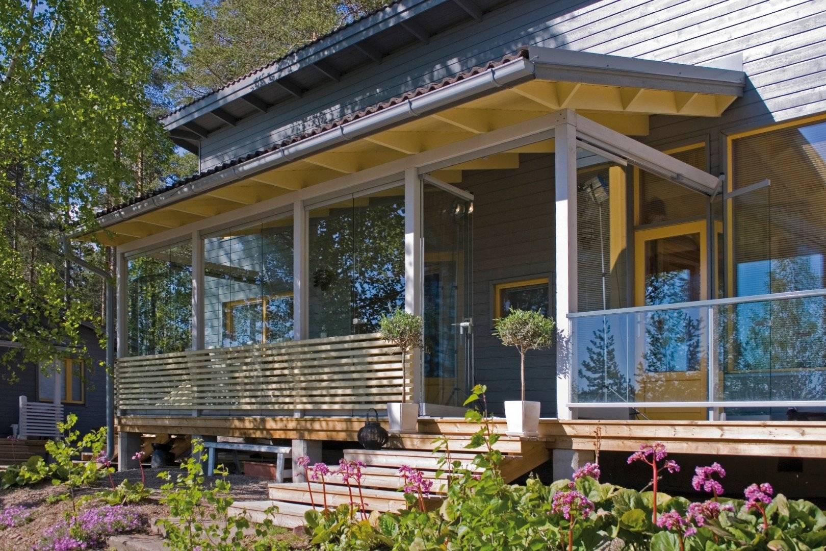 Терраса или веранда к дому: как пристроить самостоятельно, проекты с фото