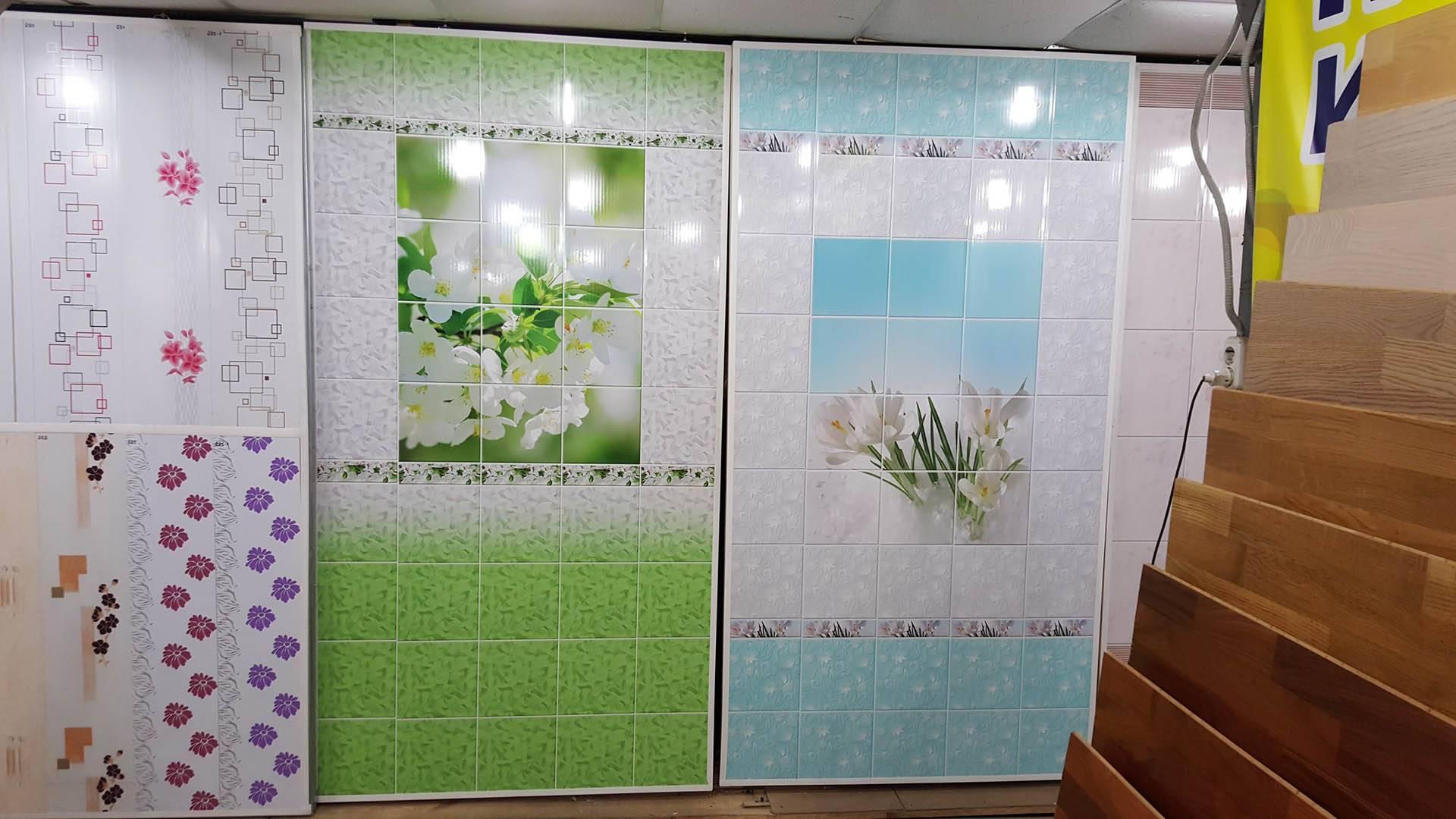 Стеновые панели пвх: цена, каталог фото-идей и свойства изделий