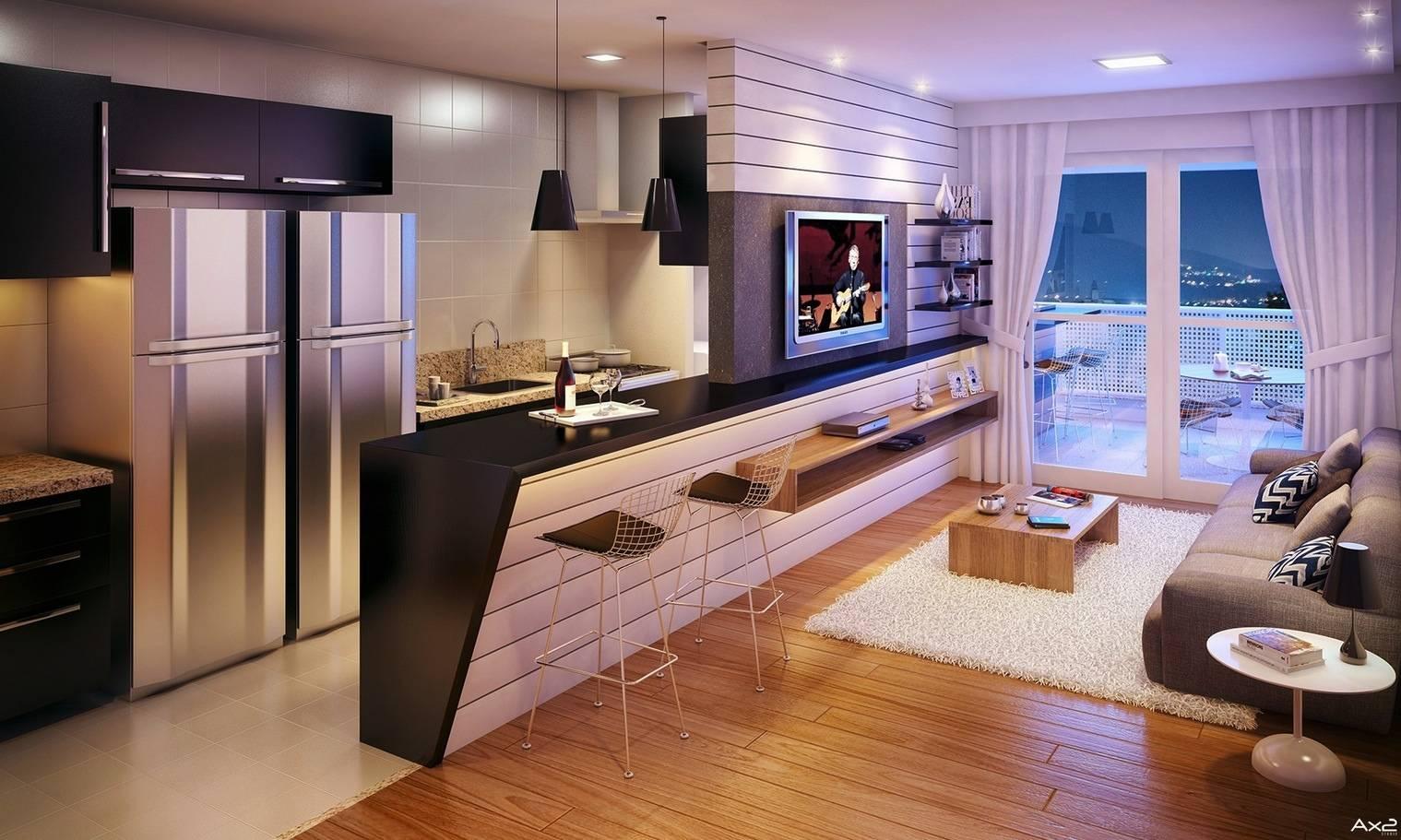 Дизайн кухни-гостиной 15 кв. м. [топ 45 фото и идей]