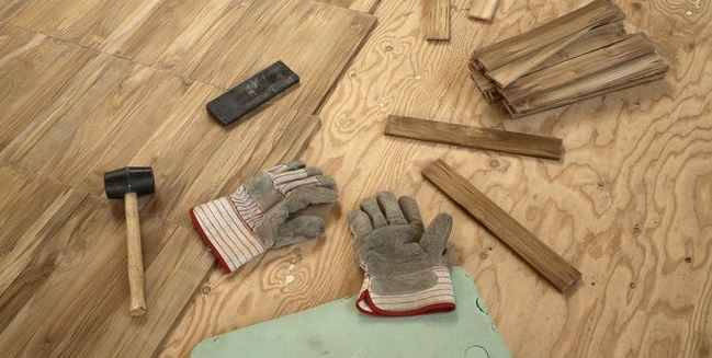 Правила укладки паркетной доски на деревянный пол