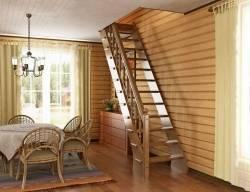 Лестница чердачная складная своими руками: как сделать, виды, чертежи, фото