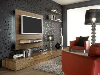 Телевизор на стене: выбор места расположения, дизайн, цвет, декор стены вокруг экрана