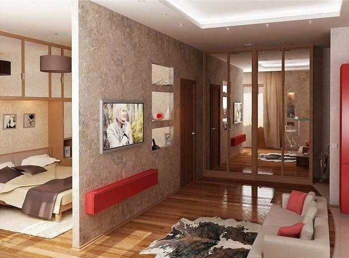 Планировка 2х комнатной квартиры: 215+ (фото) доступных схем