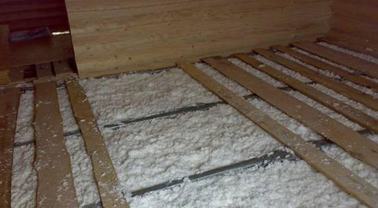 Как утеплить пол на даче: два лучших способа + пошаговые инструкции