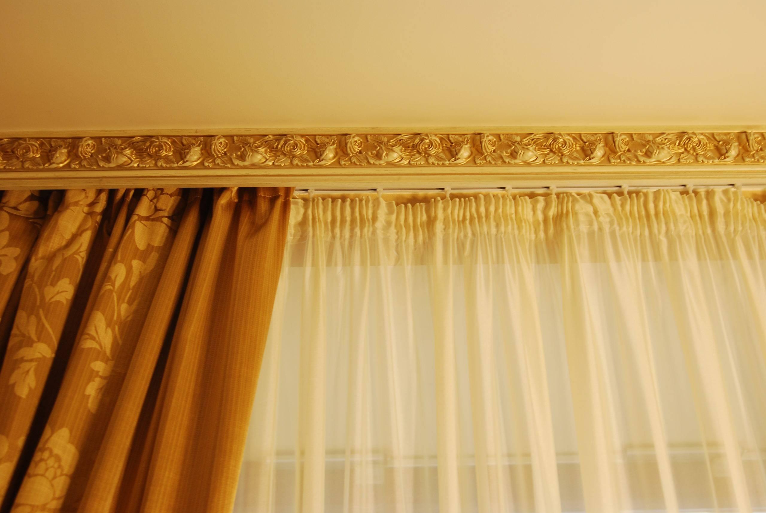 Скрытые карнизы для штор