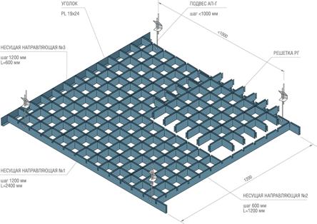 Потолок грильято: особенности установки панелей, светильников и прокладка коммуникаций (90 фото) – строительный портал – strojka-gid.ru