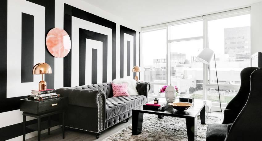 Акцентная стена в интерьере: 59 фото с идеями дизайна | дом мечты