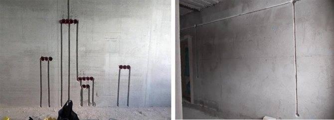 Как штробить бетон под проводку и трубы своими руками перфоратором или штроборезом? Пошаговая инструкция