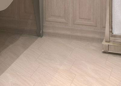 Напольная плитка kerama marazzi: шестигранная плитка для пола, белые шестиугольные изделия под ламинат в интерьере