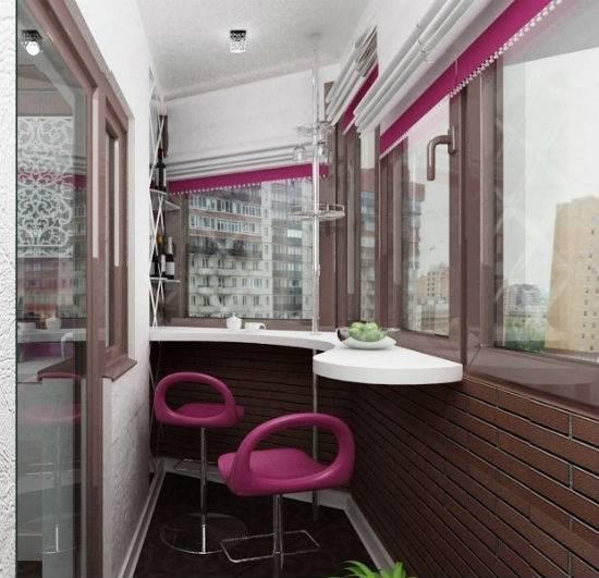 Дизайн маленького балкона своими руками