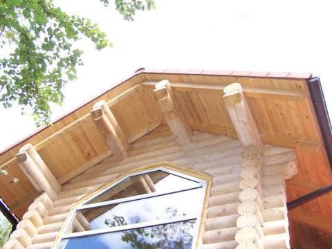 Кровля и ее конструкция в деревянном доме