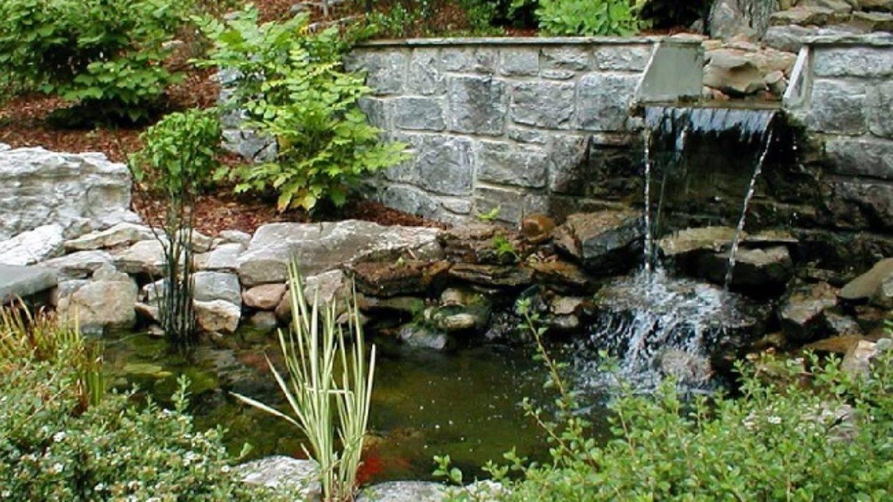 Как сделать красивый водопад на даче своими руками