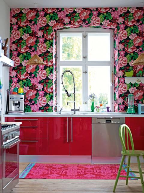 Моющиеся обои - критерии выбора для кухни, ванной или прихожей