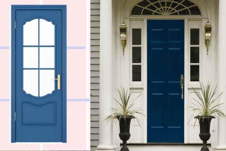 В какой цвет покрасить дверь на даче?Советы