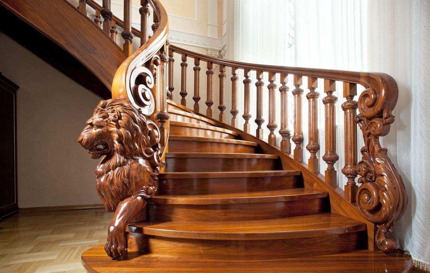 Деревянные перила для лестницы, сделанные своими руками: изготовление балясин, поручней, монтаж деталей