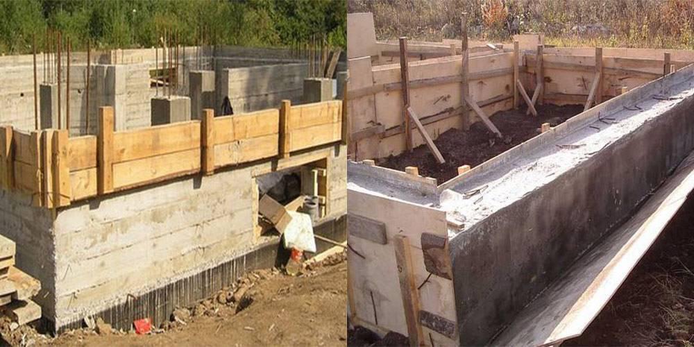 Фундамент своими руками - расчет и технология постройки надежного фундамента (90 фото)