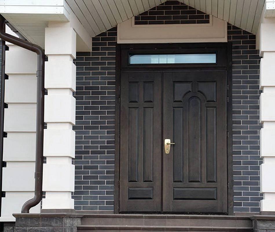 Входная деревянная дверь для частного дома и квартиры: надежность и дизайн – советы по ремонту