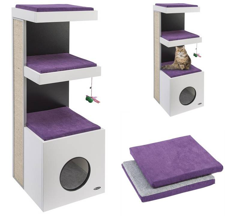Дом для кошки своими руками: от подручных средств до сложных конструкций,чертежи, инструкции