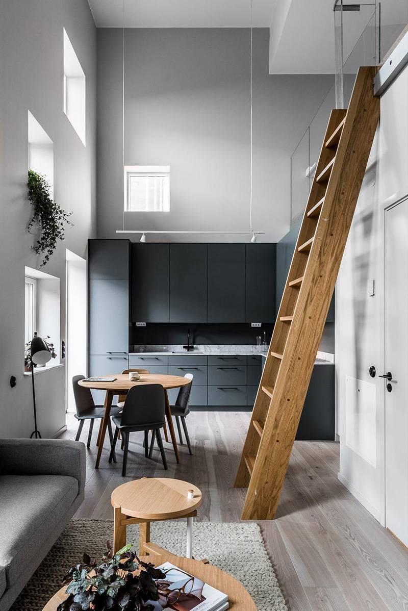 Двухуровневые квартиры: 60+ фото в интерьере, идеи дизайна