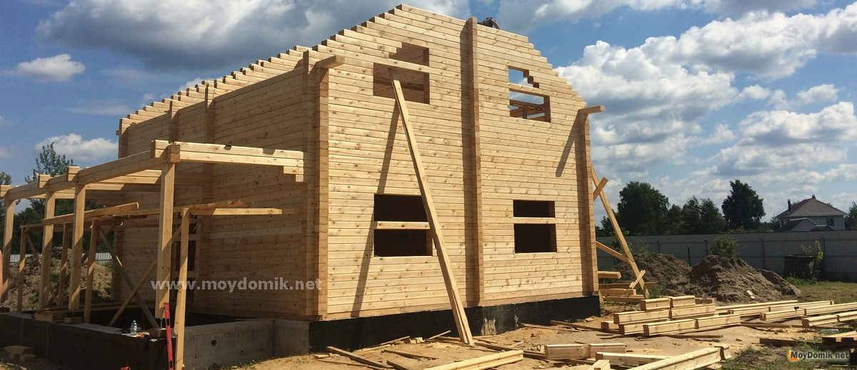 Лучшие деревянные дома — варианты планировок и функциональные проекты домов смотрите на фото!