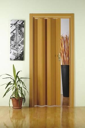 Межкомнатные двери-гармошка. существующие разновидности, преимущества и недостатки   все про двери