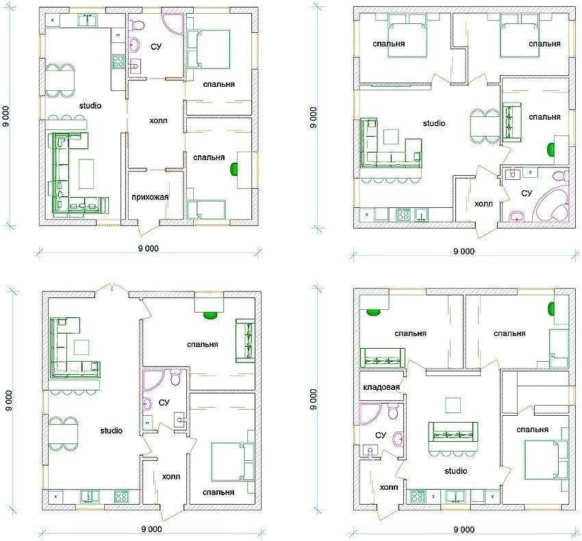 Дом 10 на 12 (110 фото): эксклюзивные дизайн-проекты частных домов