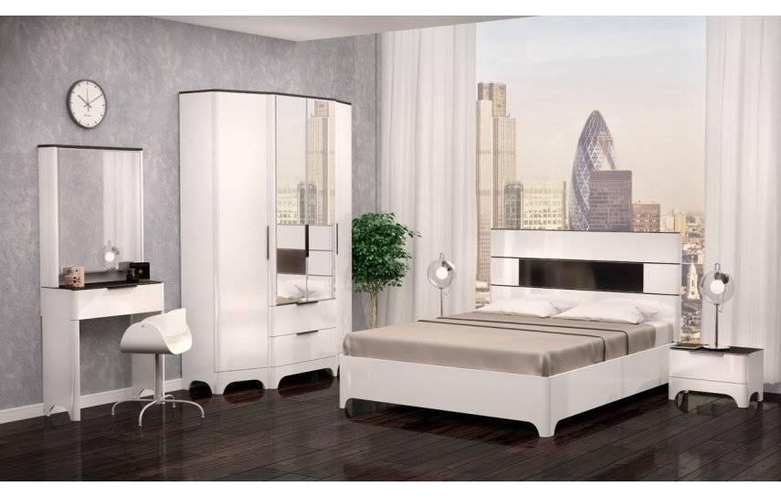 Спальня в стиле модерн (68 фото) дизайн интерьера, белая итальянская модульная спальня