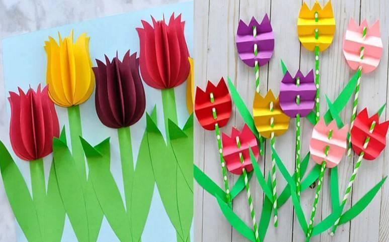 Большие цветы своими руками – подробная инструкция как сделать быстро и просто большие искусственные цветы (70 фото)