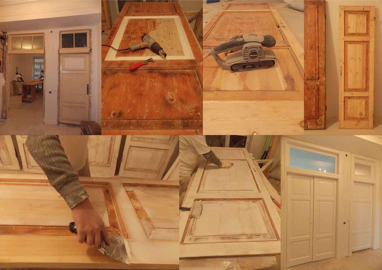 Реставрация межкомнатных дверей из массива | мастремонт.ру