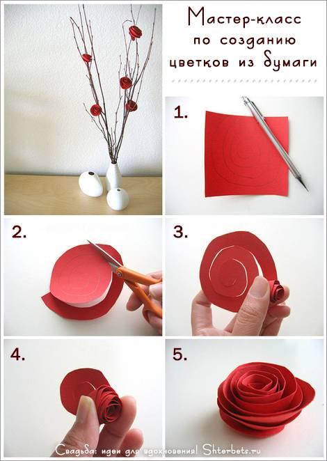 75 новых идей декора из бумаги своими руками с фото