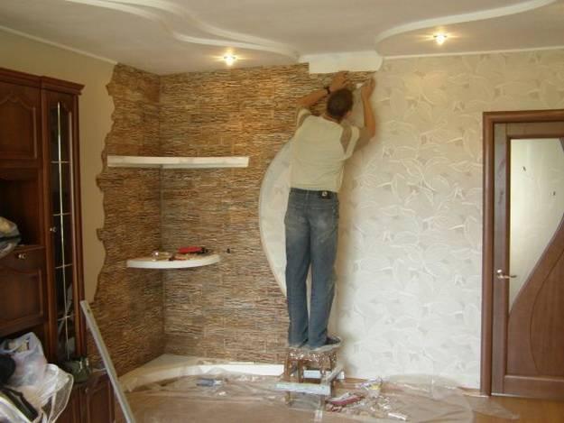 Гипсовая плитка своими руками в домашних условиях под кирпич, камень
