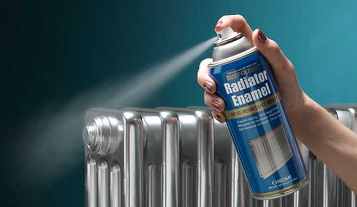 Краска для батарей отопления — выбор и технология нанесения