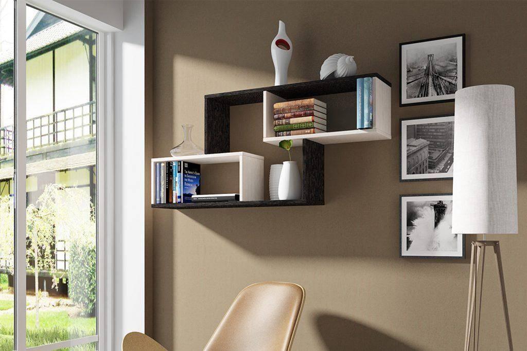 Навесные полки: ненавязчивое и практичное украшение в вашем доме