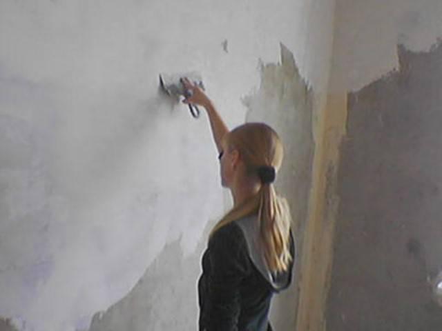 Правильная шпаклёвка стен под обои: подробная инструкция для новичка по идеальному выравниванию | видео