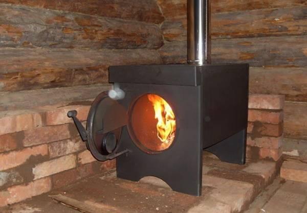 Чугунная печь буржуйка: описание, достоинства фото