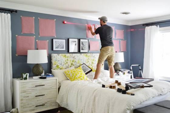 Как повесить модульную картину на стену: выбор места, крепеж