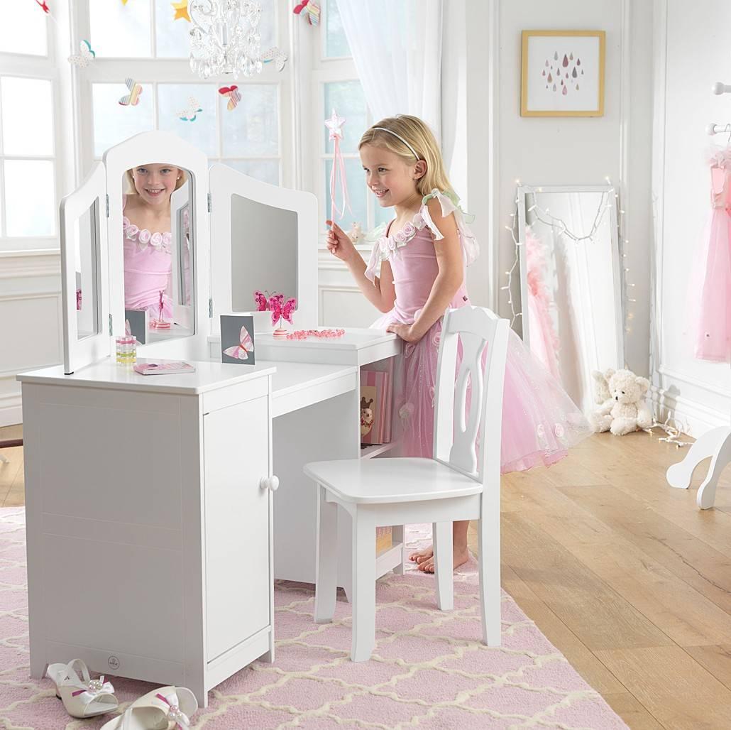 Выбираем детский туалетный столик - oteplicax