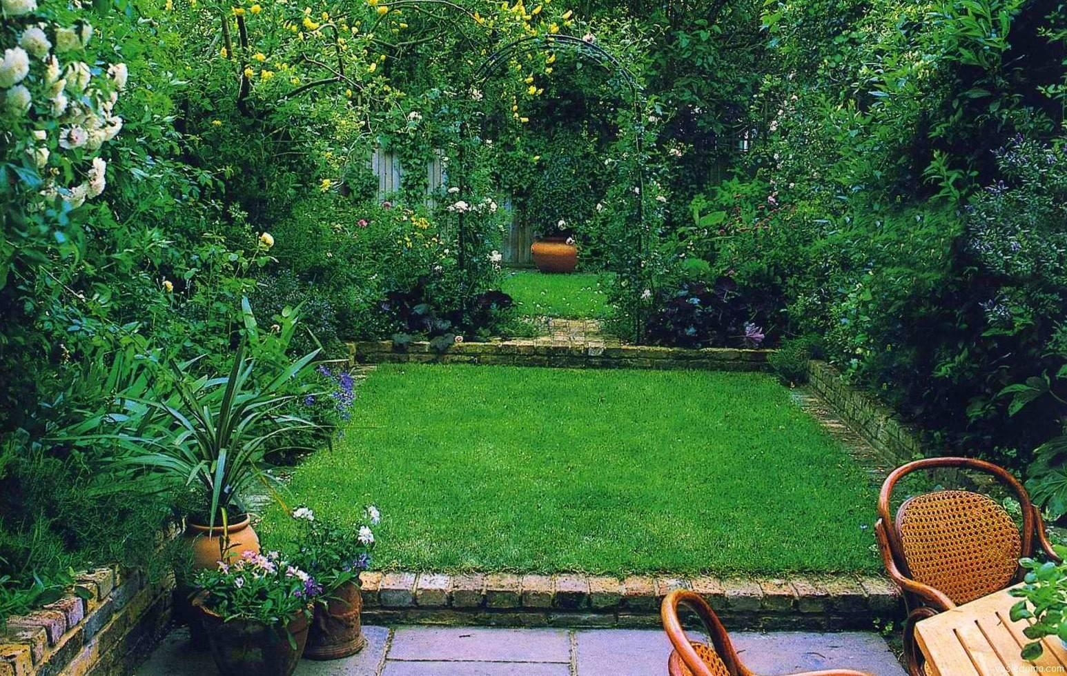 Ландшафтный дизайн: тонкости проектирования прямоугольного участка