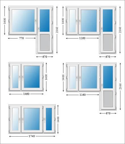 Стандартные размеры окон в частных домах: от чего они зависят