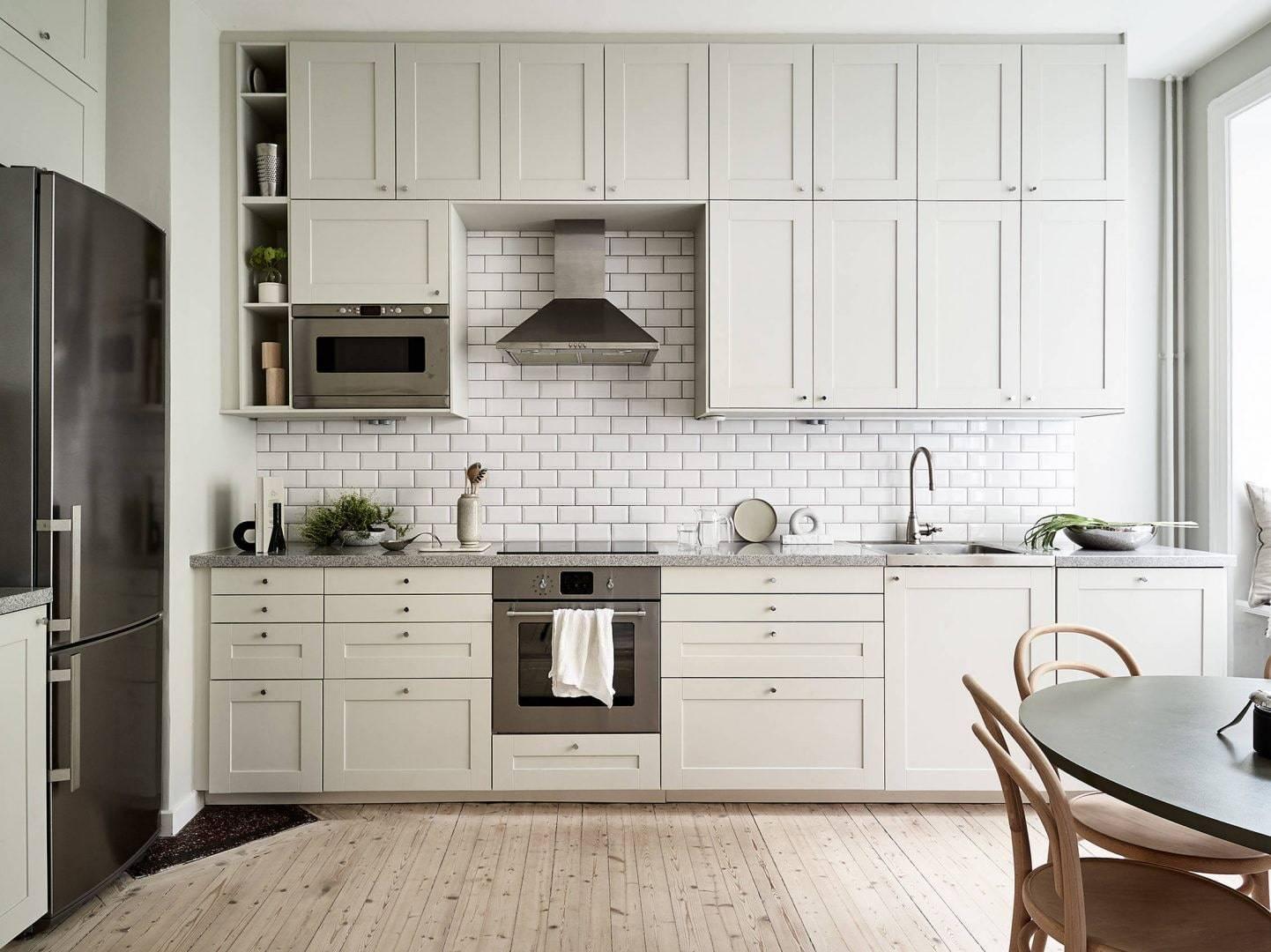 95 идей для дизайна кухни в скандинавском стиле