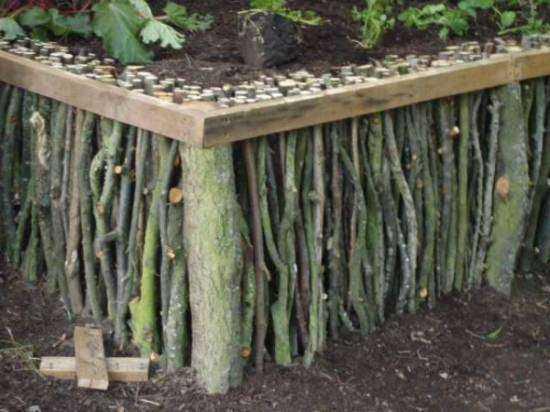 Декоративный огород: делаем красивые грядки — 60 фото