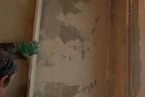 Выравнивание стен по маякам своими руками (видео), стоимость