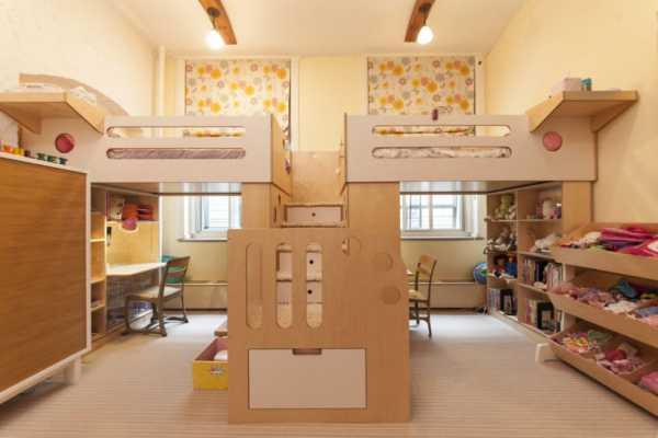 Детская для разнополых детей - фото идеального оформления в интерьере
