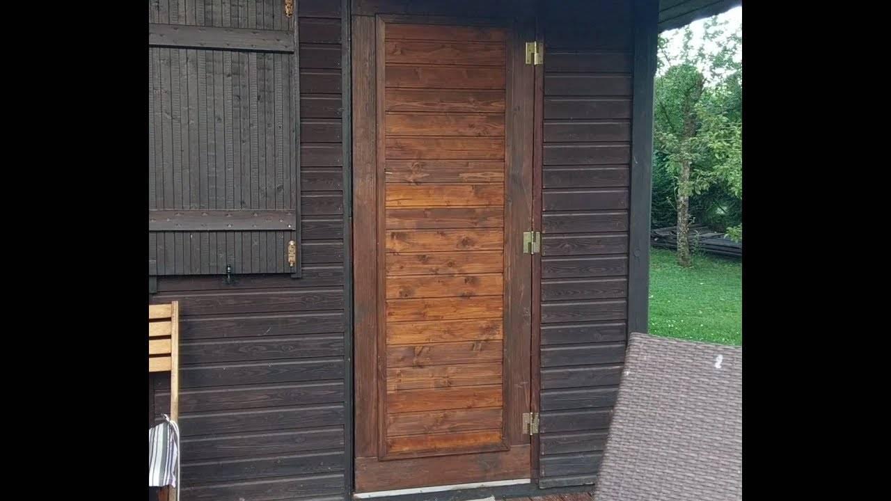 Особенности изготовления деревянной двери