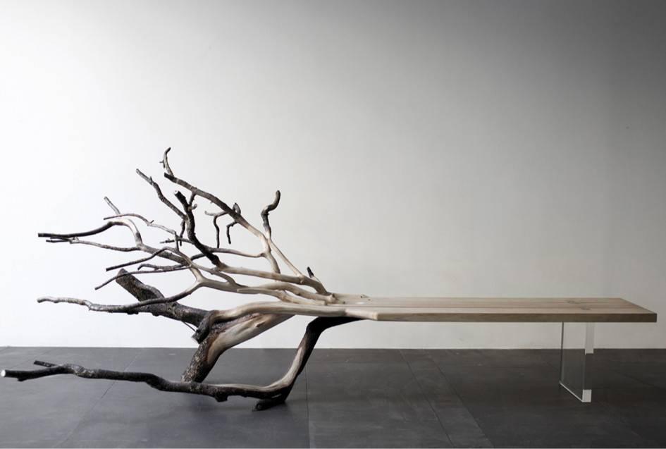 Дерево в интерьере квартиры: простые дизайнерские идеи