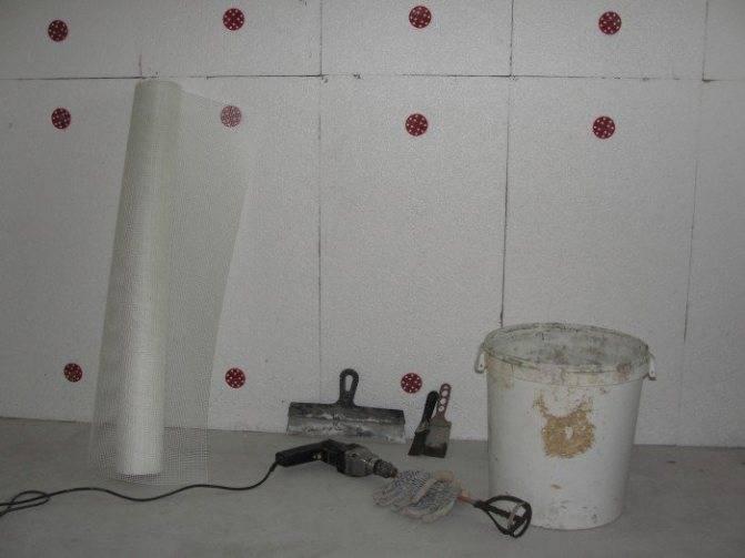 Крепление пенополистирола к стене, крепление плит пенопласта к кирпичной стенестройкод