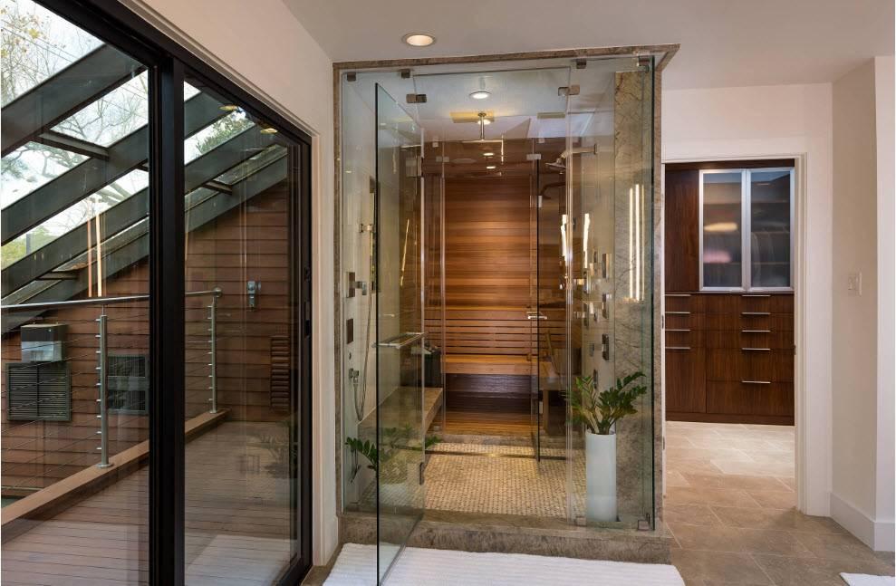 Баня с комнатой отдыха — лучшие проекты, особенности дизайна и планировки