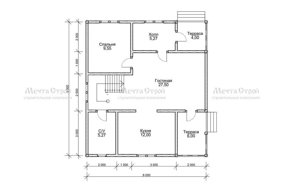 Одноэтажные дома из бруса (60 фото): строительство брусовой жилой конструкции, 1 этажные деревянные дачные постройки