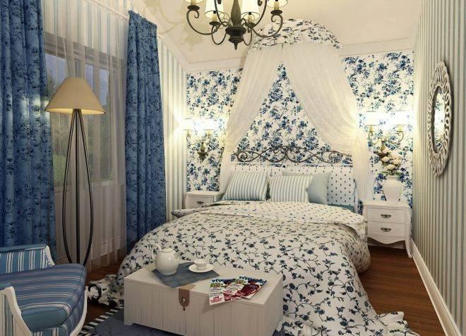Серо-голубая спальня (40 фото): как оформить дизайн интерьера в холодных тонах